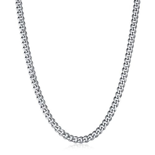 Stainless Steel Chain Necklace for Men 8.5-30″ Inch,6.5mm Wide